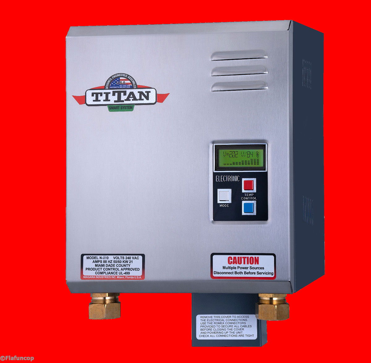 Titan N 270 Tankless Water Heater New For 2020 Free Same Day Priority Shipping 608938311580 Ebay