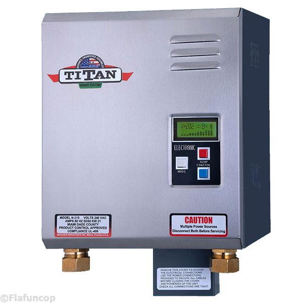 Titan N 210 Tankless Water Heater New Scr4 Digital Electric Model Free Ship 707256889624 Ebay