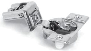 "39C355B.22 BLUM COMPACT 39C FACE FRAME HINGE 1-3/8"" OVERLAY SCREW ON BLUMOTION 02271549"