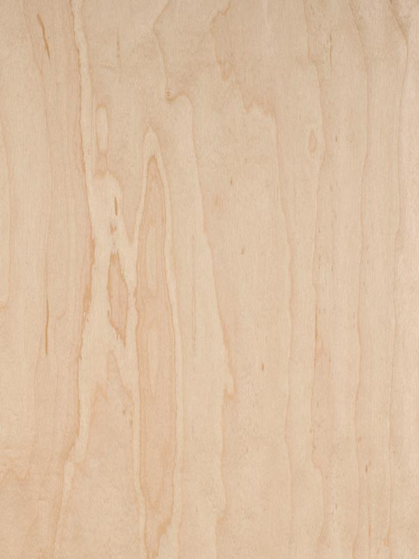 "TCWMAPLE1-2S-48 C2-RC PLYWOOD MAPLE, WHITE PREFIN 2 SIDS 4' x 8' x 1"" C-2 RC VENEER CORE WHITE MAPLE ROTARY CUT WHOLE PIECE FACE"