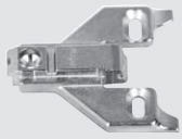 175L6600.22 BLUM CLIP & INSERTA MOUNTING PLATE (0MM) FACE FRAME APP. 03444603