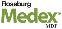 "MEDEX34-48 MEDEX MR EXTERIOR MDF BY ROSEBURG 4' X 8' X 3/4"""