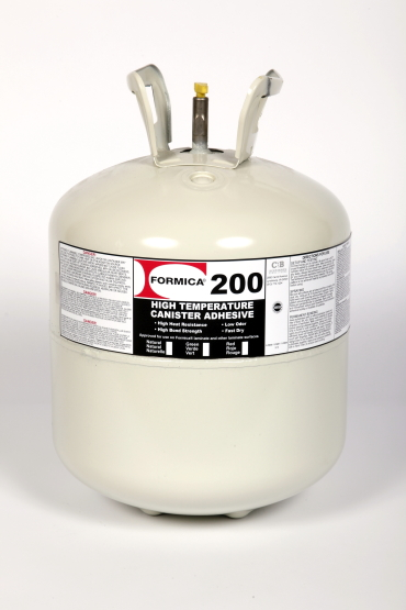 F-200-038 FORMICA 200 NATURAL ADH 38# DISPOSABLE UN3161 PG II COMPRESSED GAS, N.O.S. - FLAMMABLE 2.1 PROBLEMS? CHEMTREC 800-424-9300