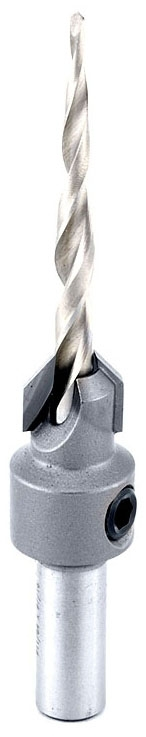 55608 AMANA CARBIDE-TIPPED COUNTERSINK FOR WOOD SCREWS/2-WING REPL BIT: 630-272
