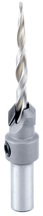 55610 AMANA CARBIDE-TIPPED COUNTERSINK FOR WOOD SCREWS/2-WING REPL BIT: 630-274