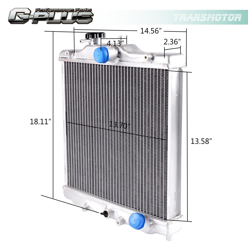 Aluminum Radiator For 92-00 HONDA EG EK CIVIC/DEL SOL