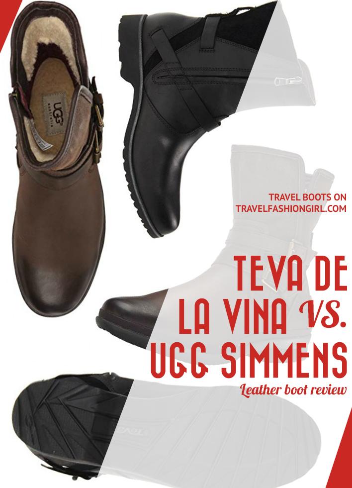 a76b37df018 Teva De La Vina vs. Ugg Simmens Boots Review