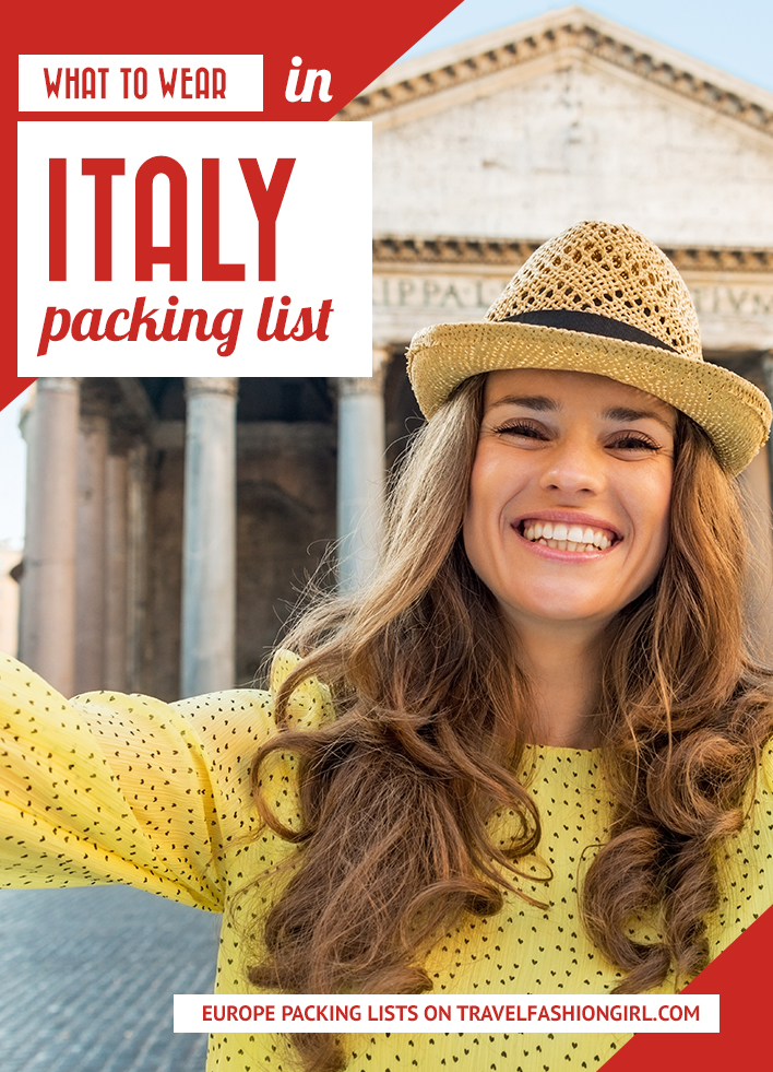 ac601b41f6 What to Wear in Italy: Packing List (2019 Update)