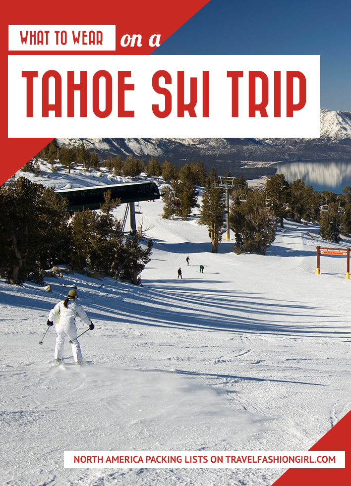 image about Ski Trip Packing List Printable identify What towards Pack for Lake Tahoe
