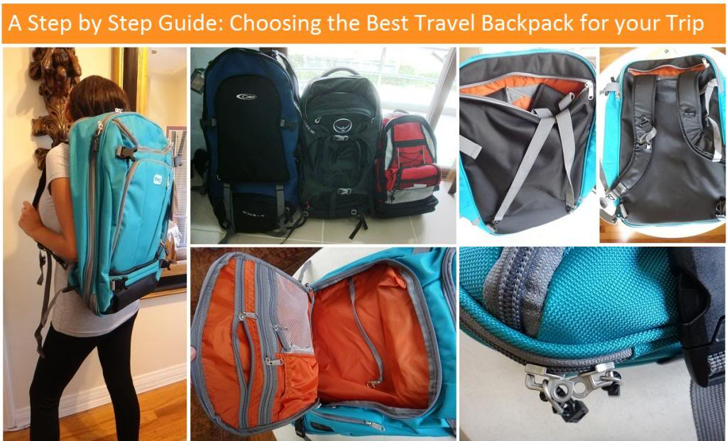 How to Choose the Best Travel Backpack  A Step by Step Guide