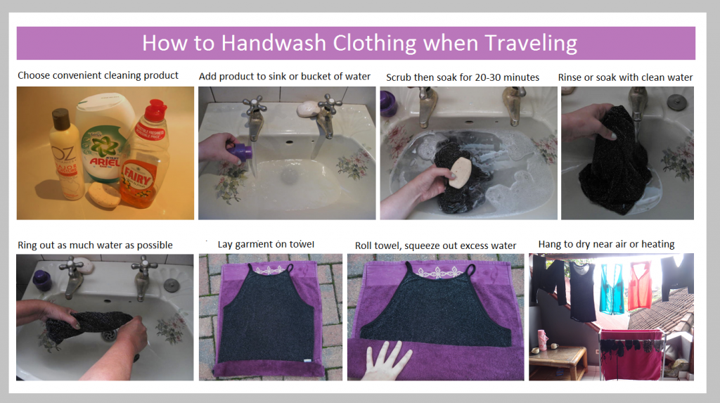 How to Hand Wash Clothing when Traveling: Easy Step by ...