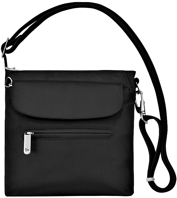 6578468dece1 Best-Cross-Body-Purses-for-Anti-Theft. Travelon Anti-Theft Classic Mini  Black Travel Shoulder Bag