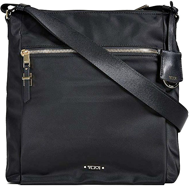 5b9ed7b93e8 Best-Cross-Body-Purses-for-Easy-Packing. Tumi Voyageur Canton Black Crossbody  Bag