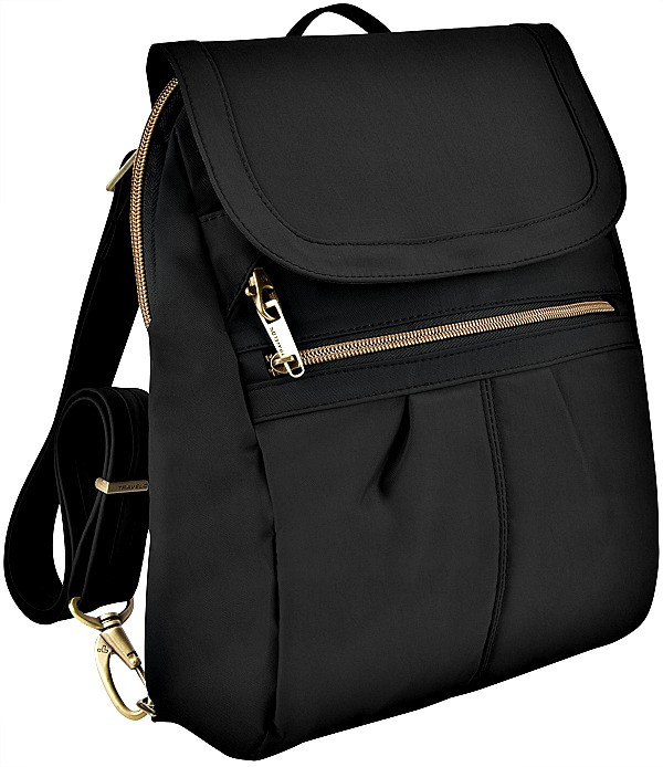 94894c4480 Best Alternative to Cross Body Purses. Travelon Anti-Theft Signature Black  Slim Backpack