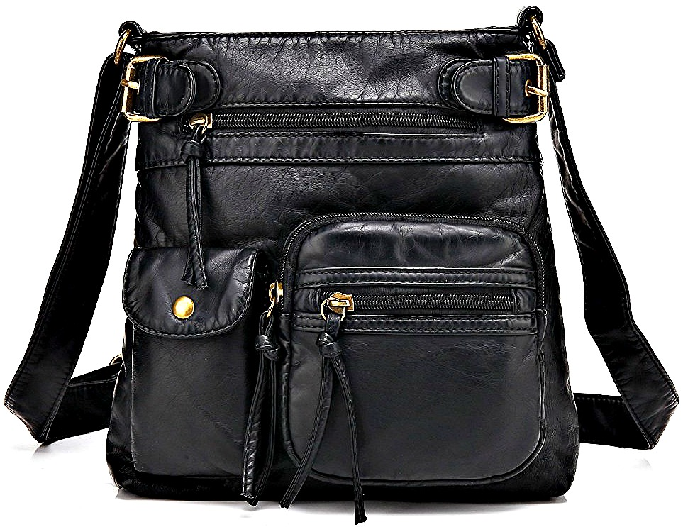 c0e1cffe20 Best-Cross-Body-Purses-for-Style. Scarleton Accent Top Belt Black Crossbody  Bag