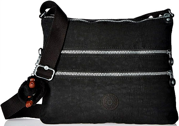 97118d862a Best-Cross-Body-Purses-for-Storage-and-Organization · Kipling Luggage Alvar  Black Crossbody Bag