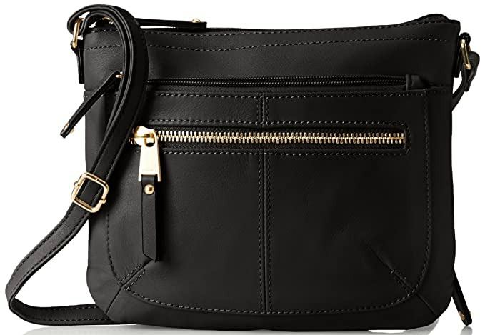 16a1a25820 Best-Cross-Body-Purses-for-Style · Tignanello Heritage E W Rfid Protection Black  Cross Body Bag