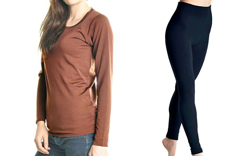 240928771d9563 best-thermal-underwear-for-women. Fleece Thermal Top | Fleece Thermal  Leggings