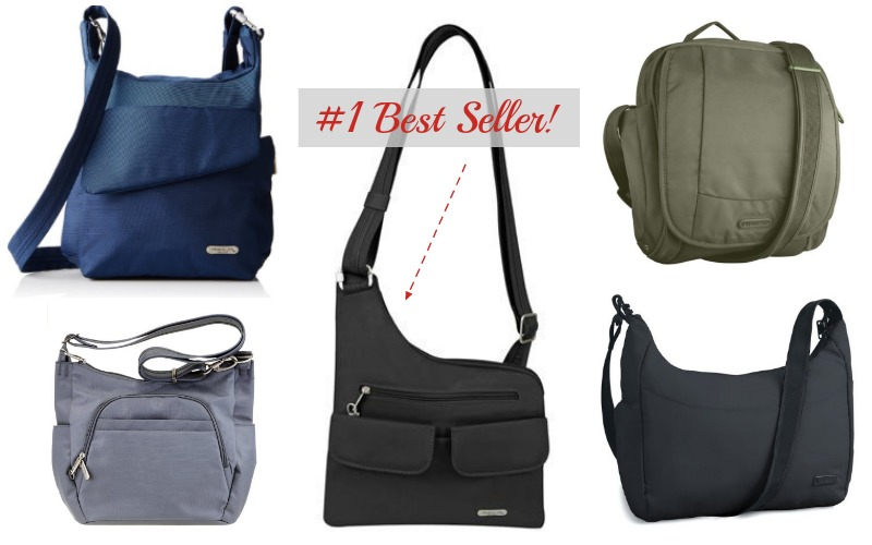 The Best Anti-theft Travel Bags for Women 2017- Best Sellers