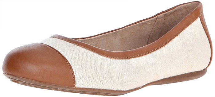 5aec0a152fb most-cute-and-comfortable-travel-flats. Softwalk Napa Natural Ballet Flat