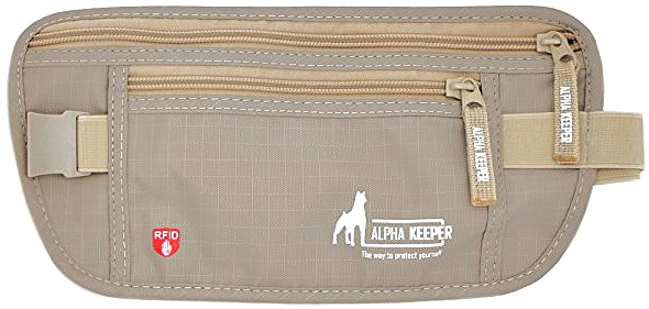 best-money-belts-and-anti-theft-travel-accessories. Alpha Keeper RFID Money  Belt for Travel 66c862271441a