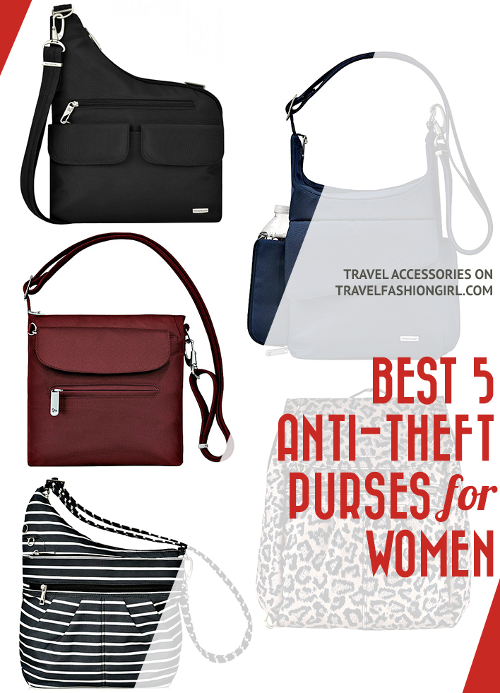 5 Best Anti Theft Travel Bags For Women 2018