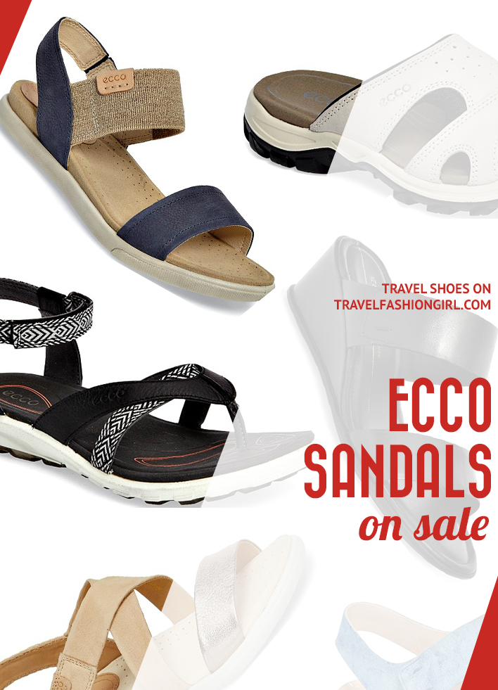 ecco ladies sandals best price