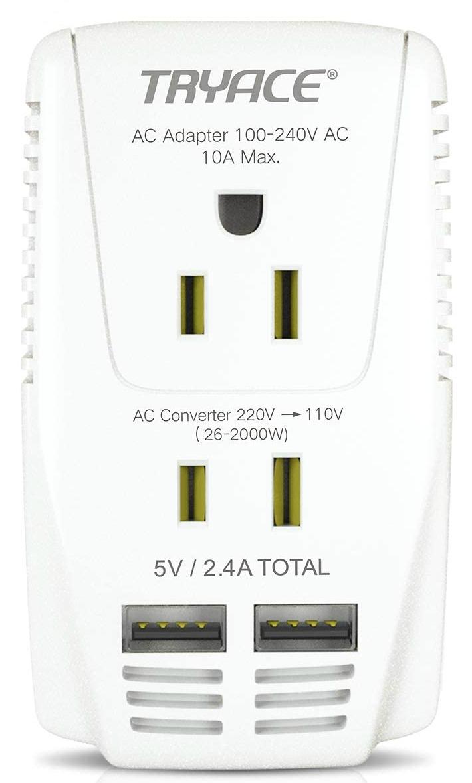 电压转换器-VS-Travel-适配器
