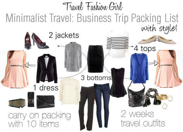5c13566cf135 Alternate Business Look. Need to get more mileage out of your business trip  packing list