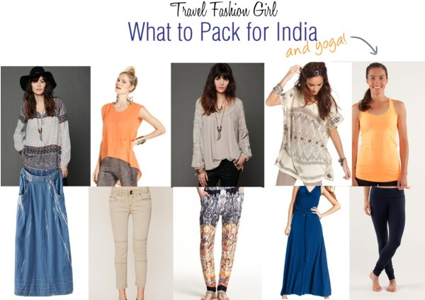 what to pack for india packing list