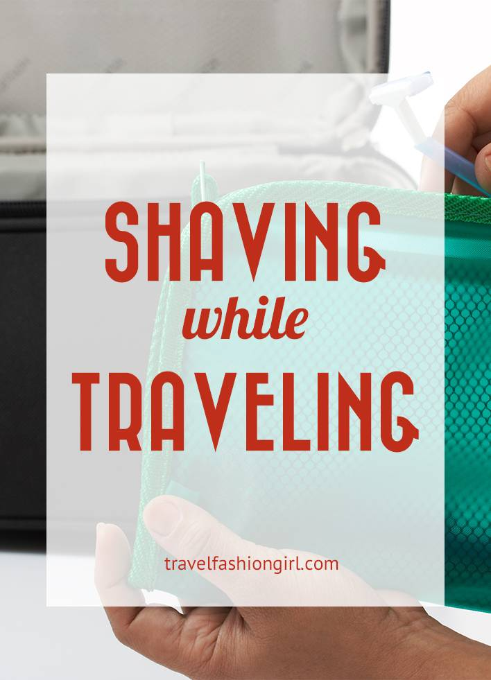 shaving-while-traveling