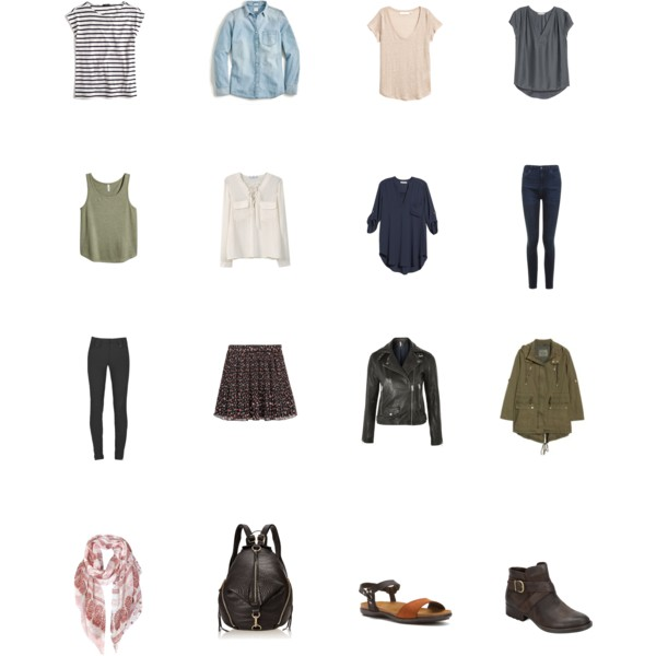 f527b1cb004 Example of what to pack for Europe in Spring or Fall (and possibly Summer)