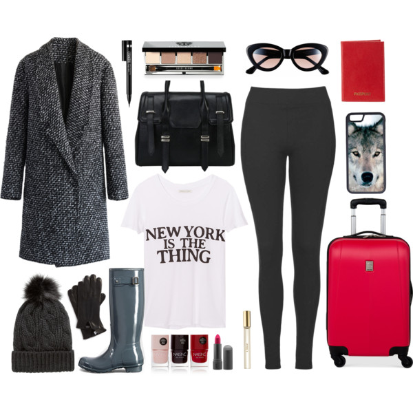 Airplane Winter Travel Outfit 4