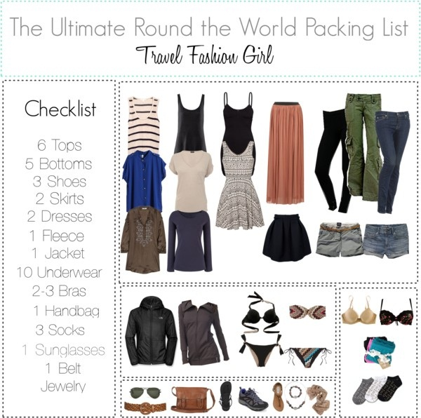 Round The World Packing Tips