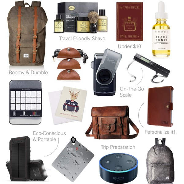 The best travel gifts for men he 39 ll actually like for Christmas gifts for travelers