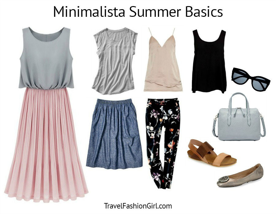 the minimalist packing list
