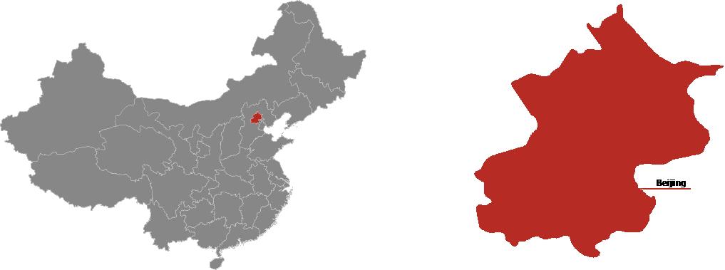 Beijing Province Map