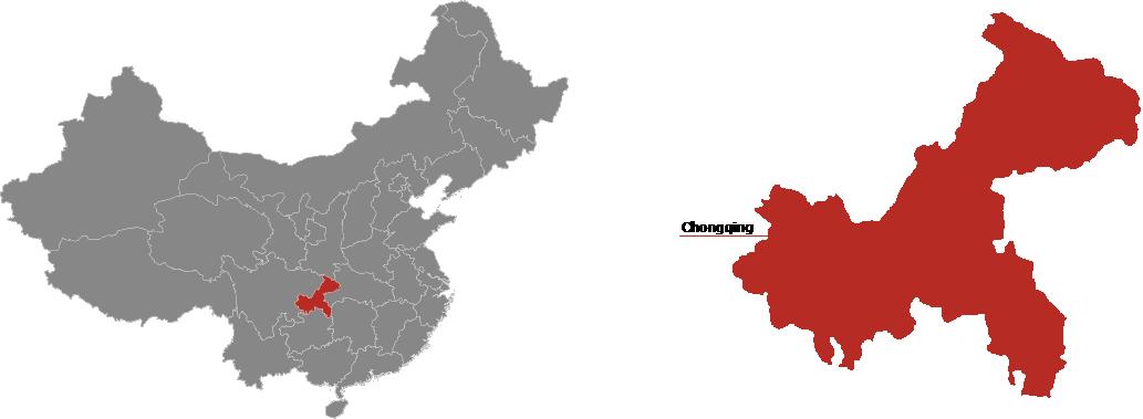 Chongqing Province Map