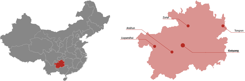 Guizhou Province Map