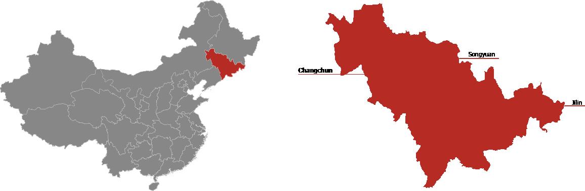Jilin Province Map