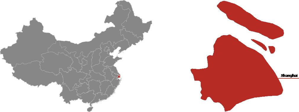 Shanghai Province Map