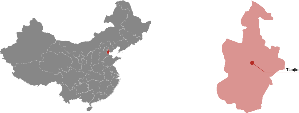 Tianjin Province Map