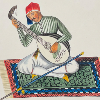 Ottoman Costumes - Watercolors