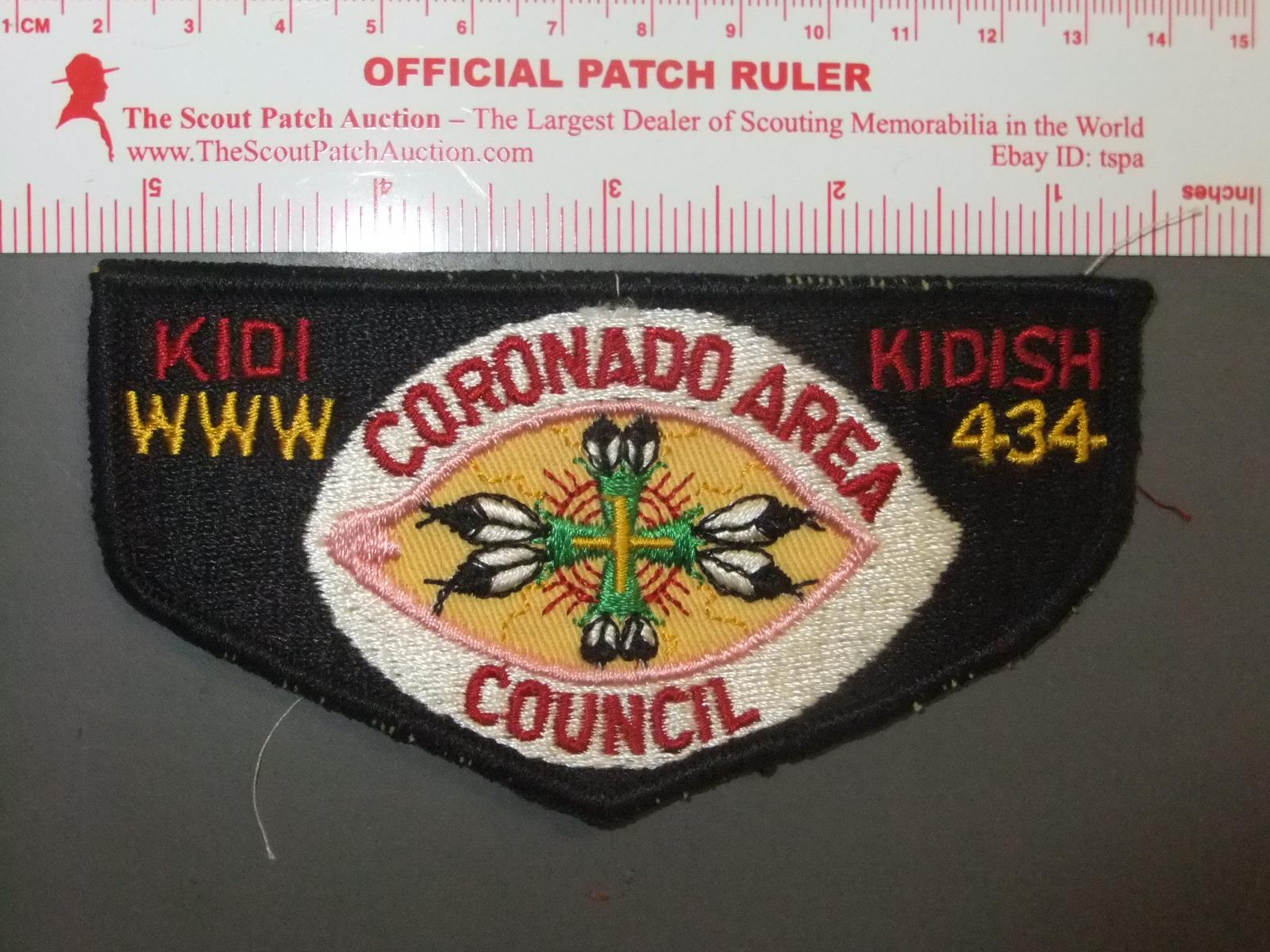 c2-56 Boy Scout OA 434 Kidi Kidish Lodge 2020 NOAC Flap Set