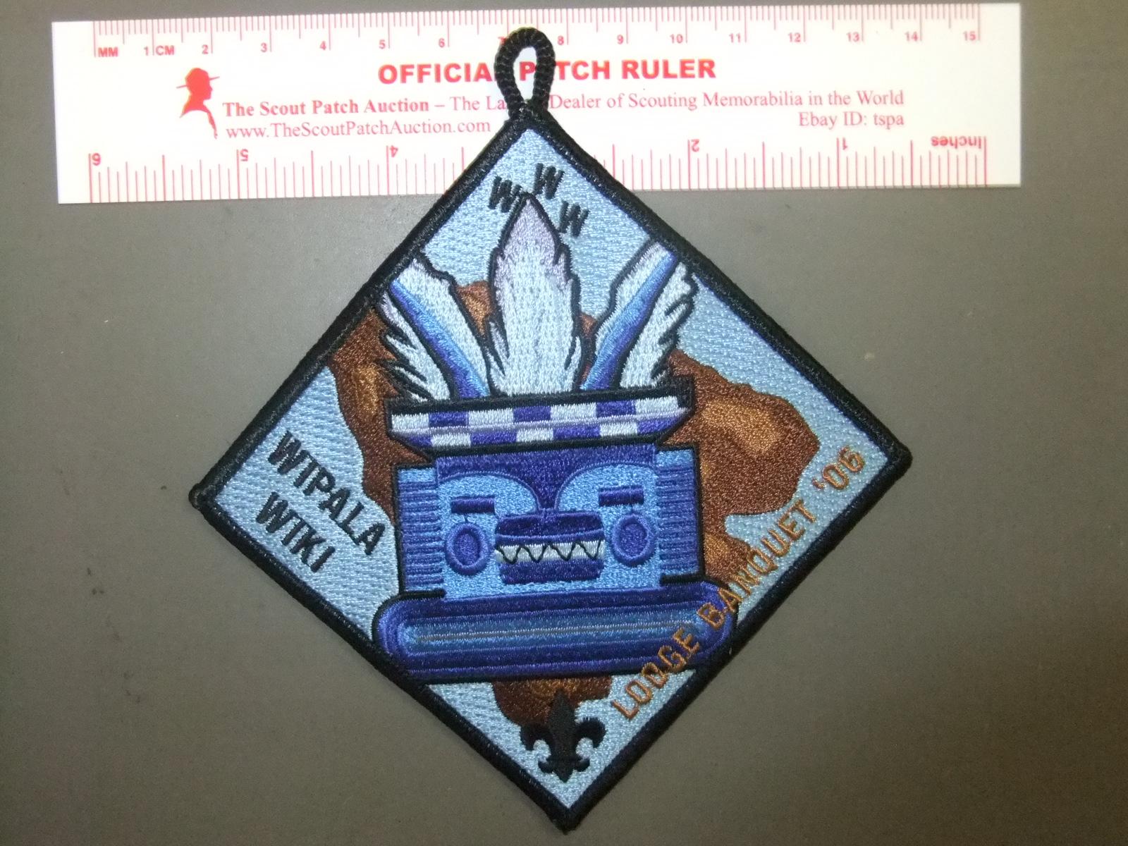 Boy Scout OA Wipala Wiki Lodge 432 2006 NOAC Set 0544DD