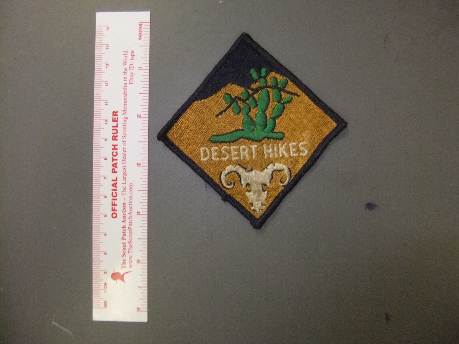 Boy Scout Belle Meade Historic Trail Hike Patch 2299GG
