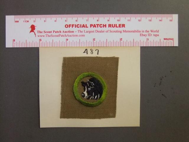 Boy Scout Merit Badge Beef production circa /'46-/'59 3954M