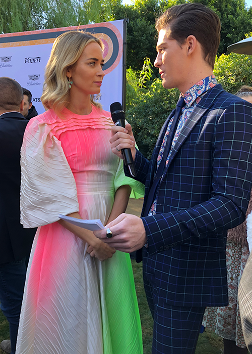 Jordan Doww Variety Brunch Emily Blunt 500x700 Palm Springs International Film Festival