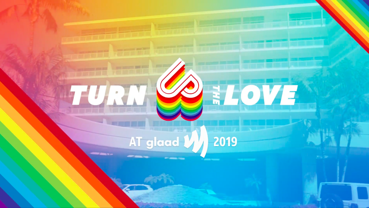 AT&T Turn Up The Love at the GLAAD Media Awards