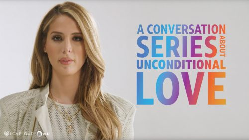 Carmen Carrera with AT&T Turn Up The Love X LOVELOUD Series